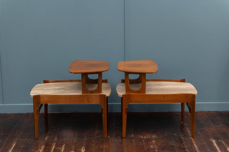Mid-Century Modern Side Tables by Bertha Schaefer For Sale 3