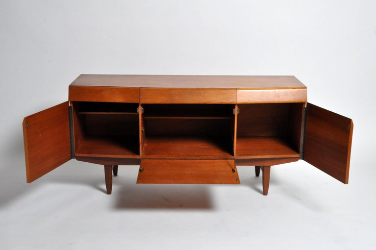 French Mid-Century Modern Sideboard For Sale