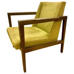 Mid-Century Modern Signed Edward Wormley Dunbar Lounge Chair