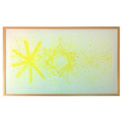 Mid-Century Modern Signed James Rosenquist Color Photo Etching Aquatint, 1978