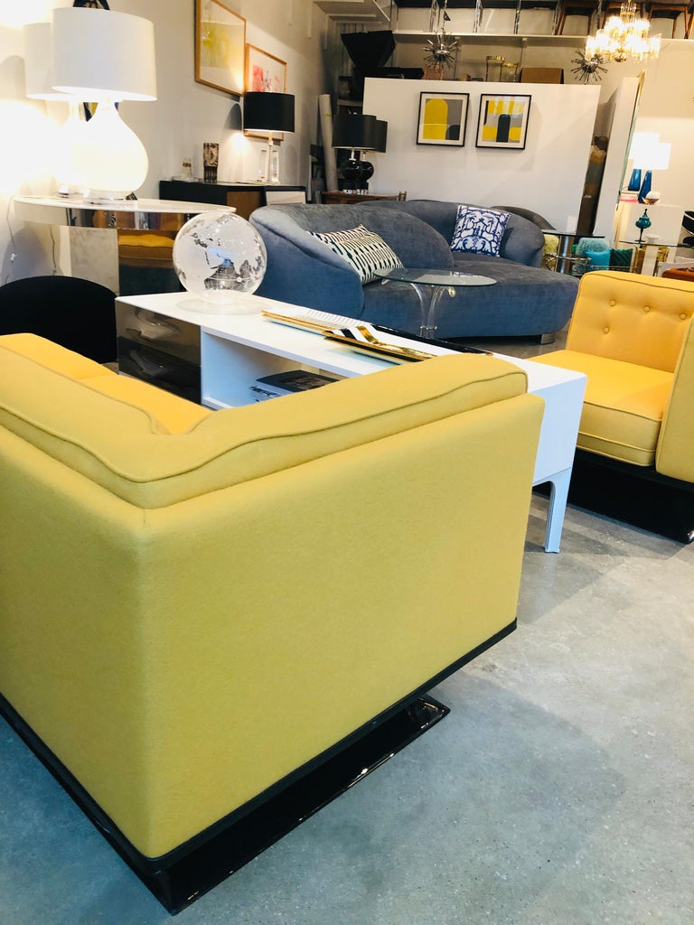 Mid-Century Modern Signed Luigi Pellegrin, MIM Roma, Ico Parisi Sectional Sofa For Sale 14