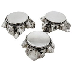 Mid-Century Modern Silvered Displays Presentoir by Christian Dior Set of 3