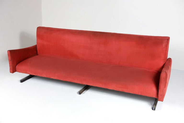 Mid-Century Modern Sofa by Brazilian designer Jorge Zalszupin, 1960s