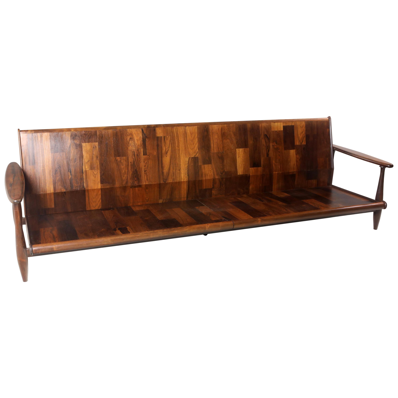 Mid-Century Modern Sofa by Liceu de Artes e Ofícios Manufacture, Brazil, 1960s