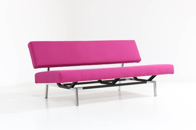 Lacquered Mid-Century Modern Sofa Bz53 by Martin Visser for 'T Spectrum, 1960s For Sale