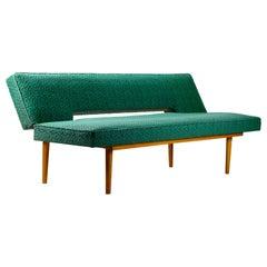 Mid-Century Modern Sofa Daybed by Miroslav Navratil, Czechoslovakia, 1960s