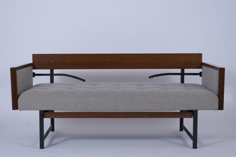 Mid-20th Century Vintage Modern Tufted Sofa For Sale