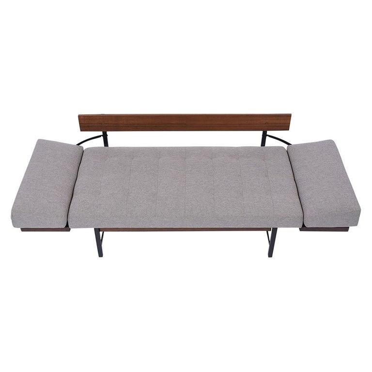 Mid-Century Modern Vintage Modern Tufted Sofa For Sale