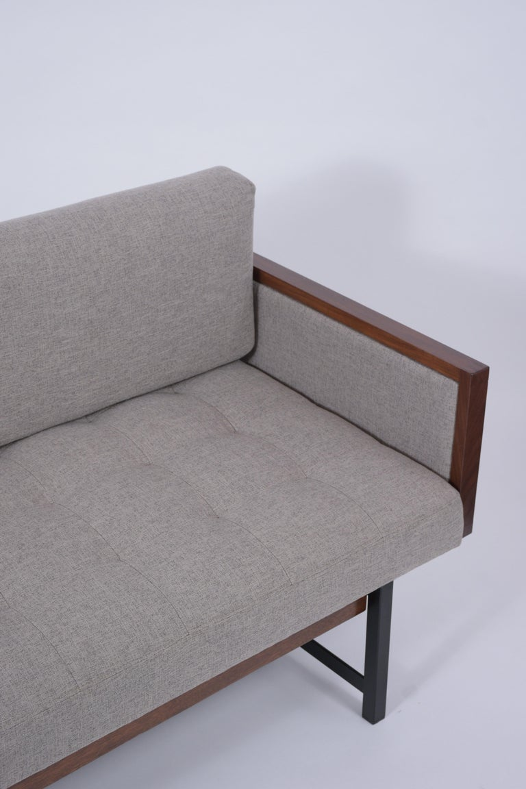 Vintage Modern Tufted Sofa In Good Condition For Sale In Los Angeles, CA