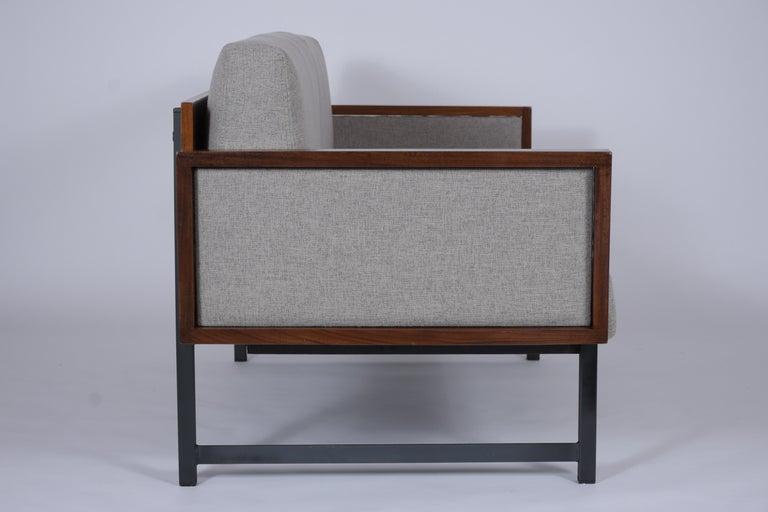 Vintage Modern Tufted Sofa For Sale 1