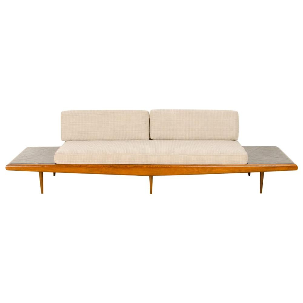 Mid-Century Modern Sofa in the Manner of Adrian Pearsall, Circa 1950