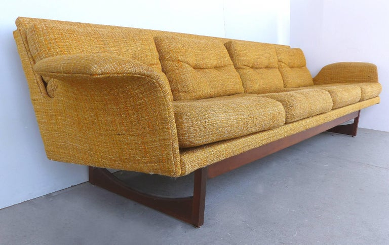 Mid Century Modern Sofa In The Scandinavian Style For Sale
