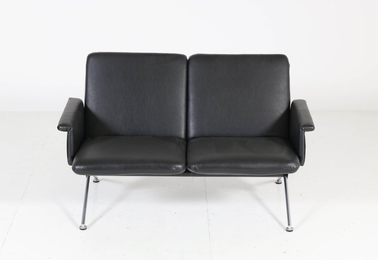 Rare Mid-Century Modern sofa no. 1705 by Andre Cordemeijer for Gispen, 1961.