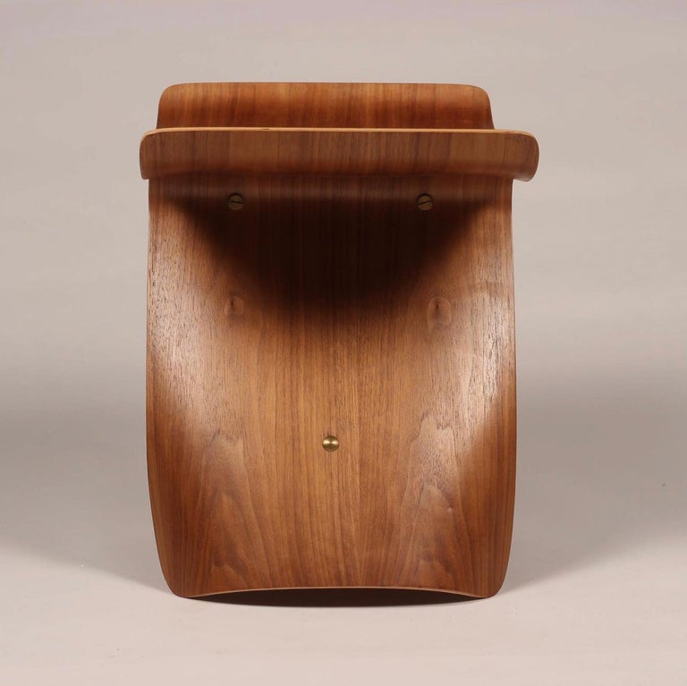 Late 20th Century Mid-Century Modern Sori Yanagi Butterfly Stool in Walnut and Plywood