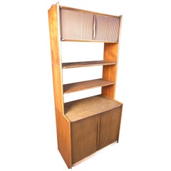 Mid-Century Modern Stacking Bookshelf