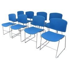 Mid-Century Modern Steelcase Stacking Chairs 26 Available