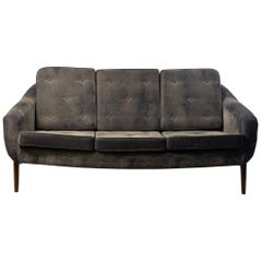 "Mid-Century Modern ""Stella"" Sofa Couch by Brazilian Designer Sergio Rodrigues"