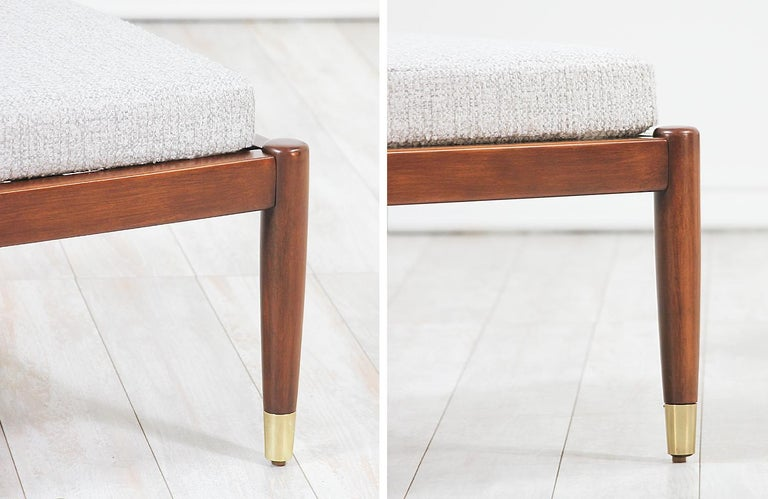 Mid-Century Modern Stools by Folke Ohlsson for DUX For Sale 7