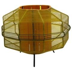 Mid-Century Modern String Table Lamp, 1970s