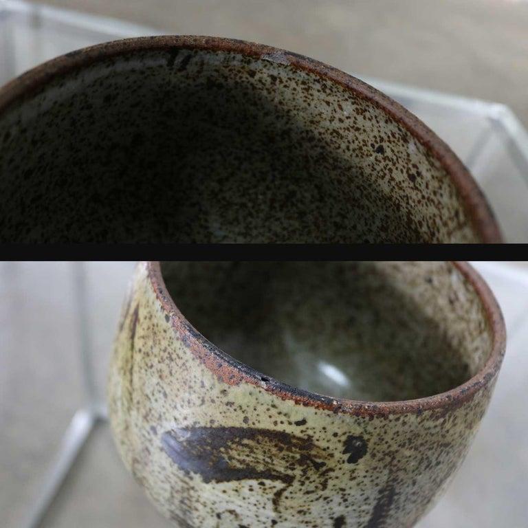Mid-Century Modern Studio Ceramic Stoneware Pot by Mark Zamantakis For Sale 5