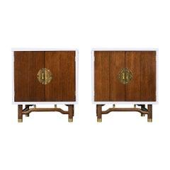 Mid-Century Modern Style 1960s Pair of Nightstands