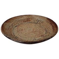 Mid-Century Modern Style Ceramic Cath-it-all Large Bowl Stoneware