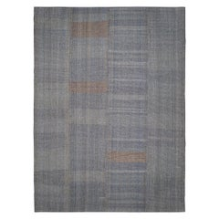 Mid-Century Modern Style Charmo Flat-Weave Rug