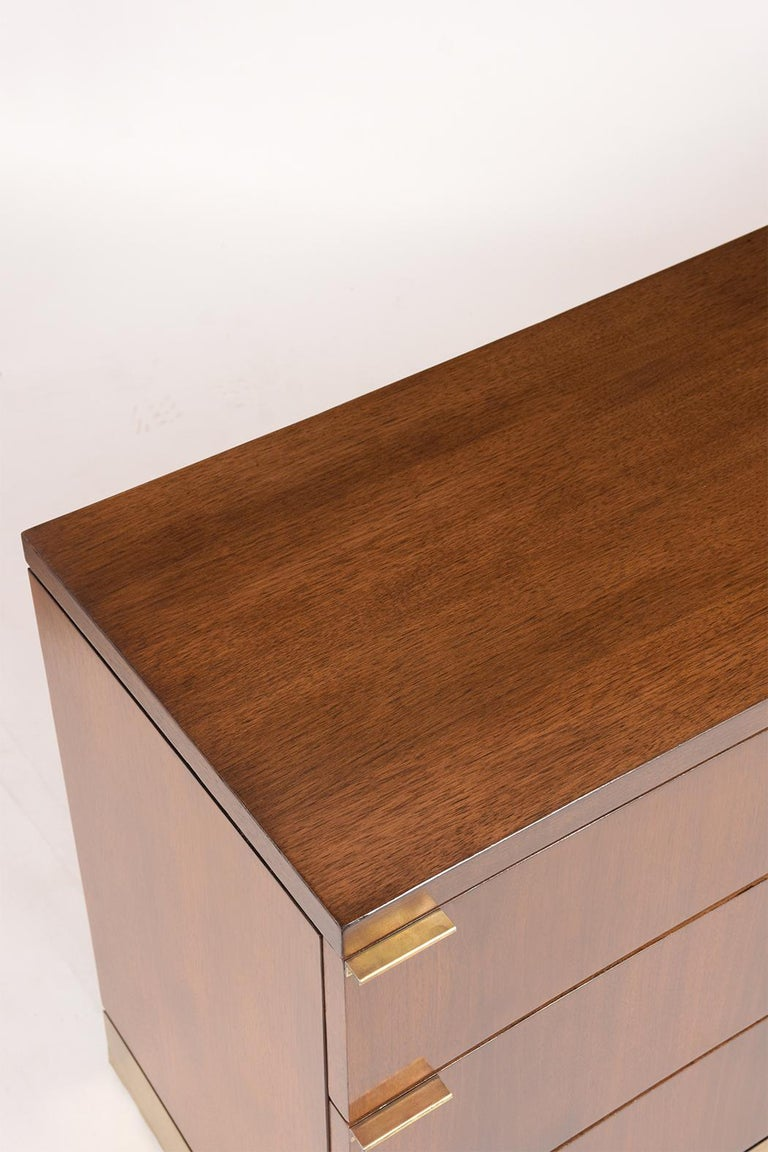 Mid Century Modern Style Lacquered Credenza For Sale 3