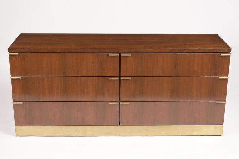 Mid-Century Modern Mid Century Modern Style Lacquered Credenza For Sale