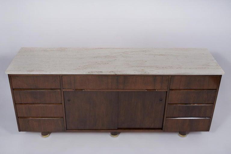 Plywood Mid-Century Modern Style Credenza