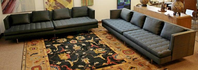 American Mid-Century Modern Style Edward Wormley for Dunbar Chamberlain Model 4907a Sofa For Sale