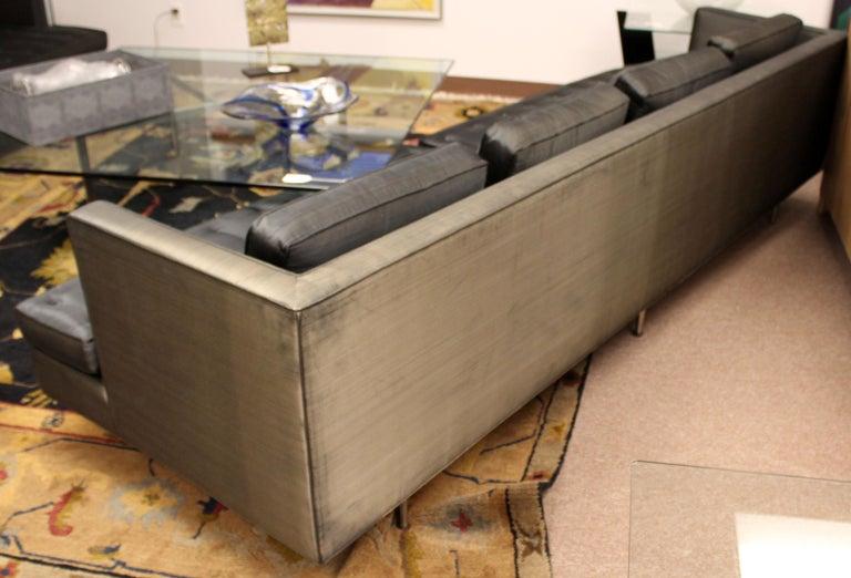 Mid-20th Century Mid-Century Modern Style Edward Wormley for Dunbar Chamberlain Model 4907a Sofa For Sale