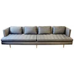 Mid-Century Modern Style Edward Wormley for Dunbar Chamberlain Model 4907a Sofa