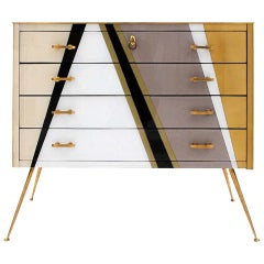 Mid-Century Modern Style Italian Commode by L.A. Studio