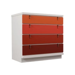 Mid-Century Modern Style Lacquered Chest of Drawers