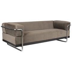 Mid-Century Modern Style Mohair Sofa