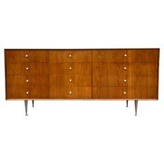 Mid-Century Modern Style of George Nelson 12 Drawer Dresser Credenza