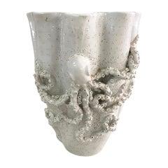 Mid-Century Modern Style Organic Shape Terracotta Italian Vase