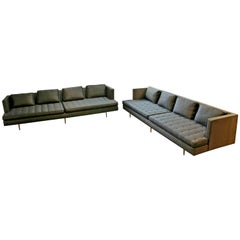 Mid-Century Modern Style Pair Wormley for Dunbar Chamberlain Model 4907a Sofas