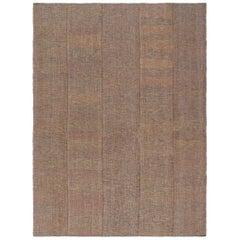 Mid-Century Modern Style Persian Charmo Flat-Weave Rug