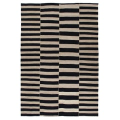 Mid-Century Modern Style Persian Flat-Weave Rug