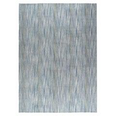 Mid-Century Modern Style Persian Pelas Flat-Weave Rug