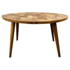 Mid-Century Modern Style Wooden Coffee Table