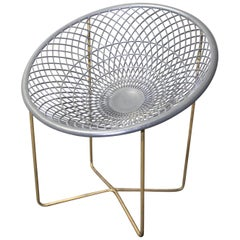 "Mid-Century Modern ""Sun Flower Chair"" by Liberty Ornamental Iron of Canada"