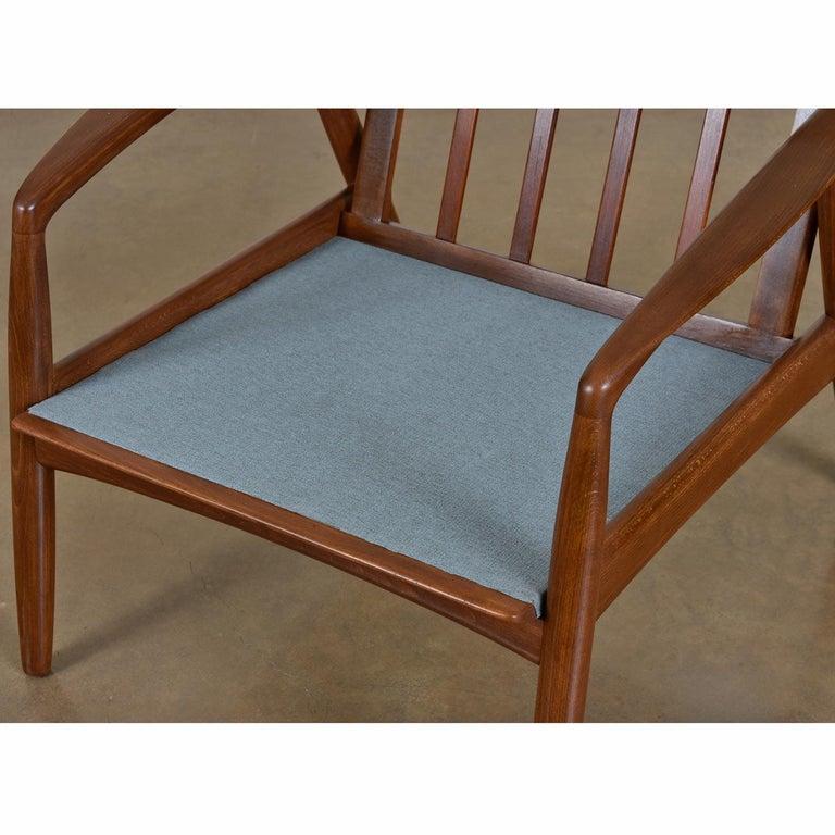 Mid-20th Century Mid-Century Modern Svend Madsen Beech Wood Lounge Chair For Sale