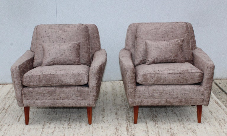 Mid-Century Modern Swedish Lounge Chairs by DUX 12