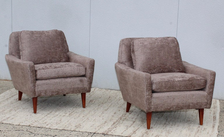 Mid-Century Modern Swedish Lounge Chairs by DUX 14