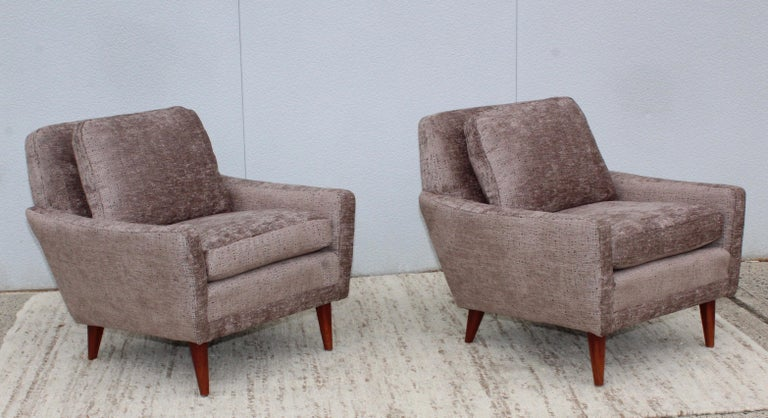 Mid-Century Modern Swedish Lounge Chairs by DUX 1