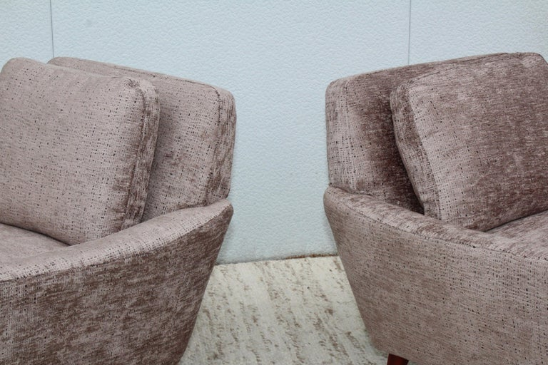 Mid-Century Modern Swedish Lounge Chairs by DUX 3