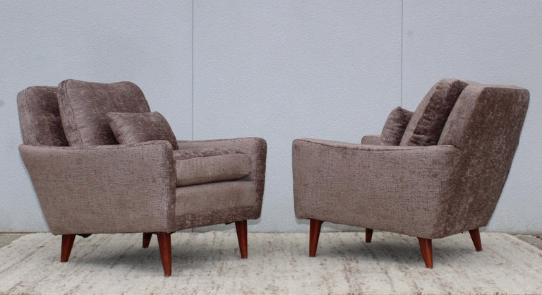 Mid-Century Modern Swedish Lounge Chairs by DUX 4